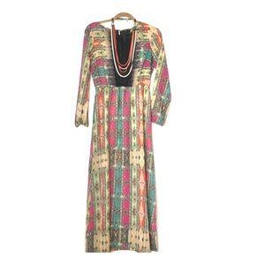 Retro Maxi Dress: Medium